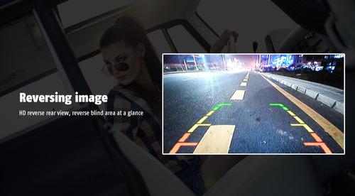 auto estéreo 2din pantalla usb / bt / mirror link  camara