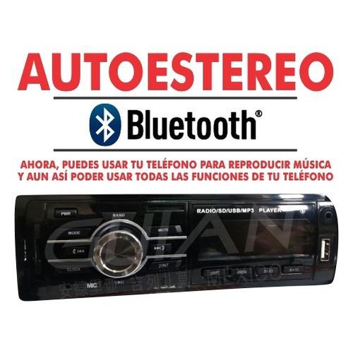 auto estéreo bluetooth 200w envio gratis
