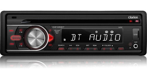 auto estereo bluetooth clarion cz105bt cd mp3 usb aux