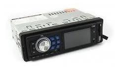 auto estéreo bluetooth usb auxiliar fm frente desmontable