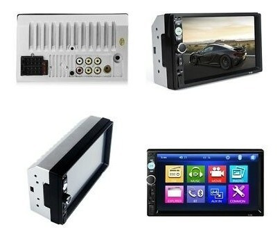 auto estéreo pantalla 7 usb, bluetooth y camara de reversa