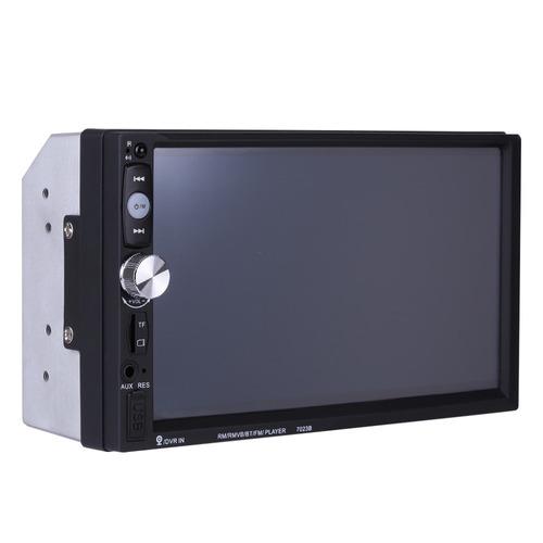 auto estereo pantalla doble 2 din bluetooth usb touch camara