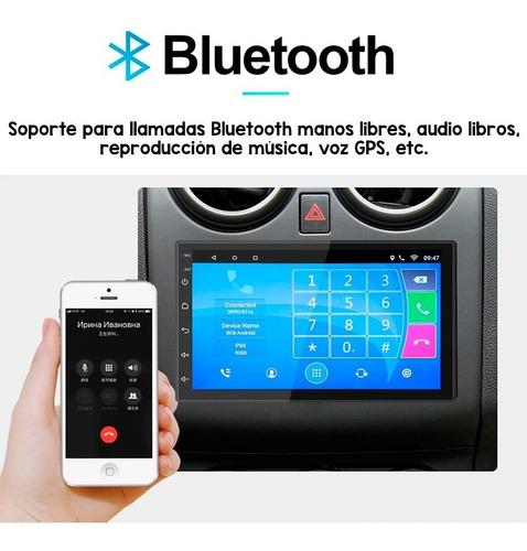 auto estereo pantalla touch 7 pulgadas sistema operativo android wifi gps mirrorlink doble 2 din camara de reversa