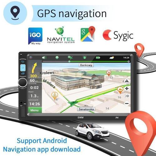 auto estéreo pantalla wifi gps android 8.1 1gb 16gb camara