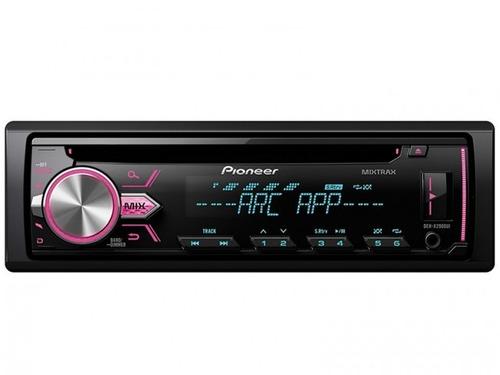 auto estéreo pionner x2900 mitrax digital usb /aux/fm/am.