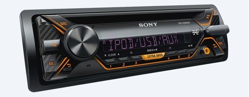auto estereo sony cdx-g3200uv cd usb android ipod multicolor