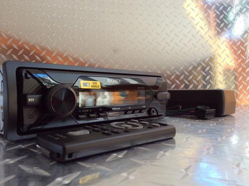 auto estéreo sony dsx-a110u usb con bocinas 6.5 y 6x9