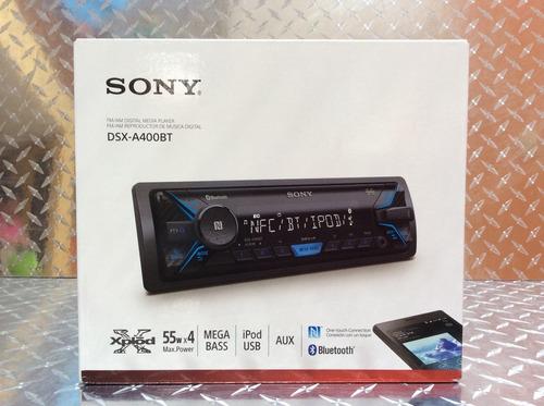 auto estéreo sony dsx-a400bt bluetooth usb auxiliar am y fm