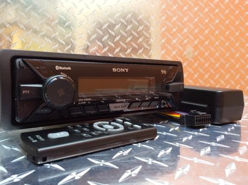 auto estéreo sony dsx-a410bt bluetooth usb auxiliar am y fm