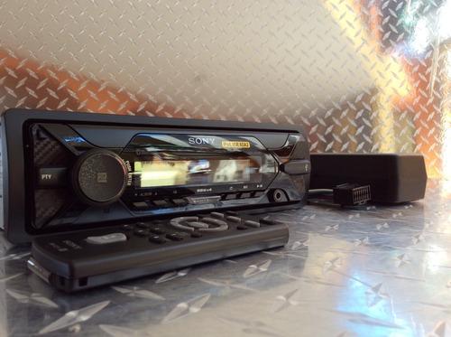 auto estéreo sony dsx-a410bt bluetooth usb con bocinas 6x9