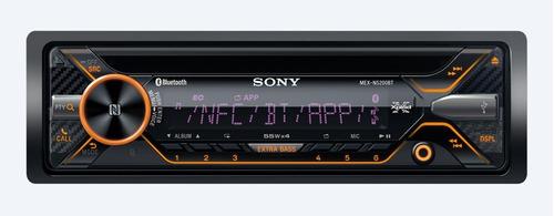 auto estereo sony mex-n5200bt microfono contro usb cd mp3