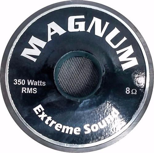 auto falante 8 polegadas magnum 350 rms graves/médios 4ohms