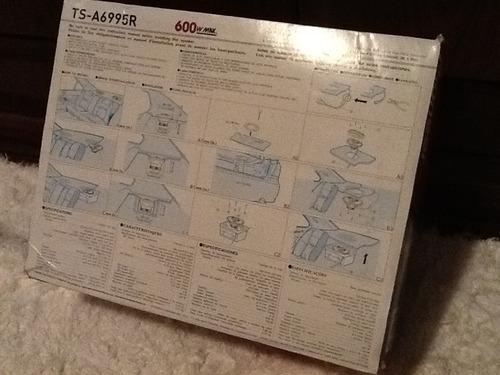 auto falante pioneer 6 x 9 ts-a 6995 - novo na caixa