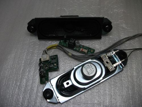 auto falante sensor ir cabo video lg 32pc5rv - cada peça
