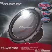 auto falante subwoofer pioneer ts-w3003d4  12 champion 2000w