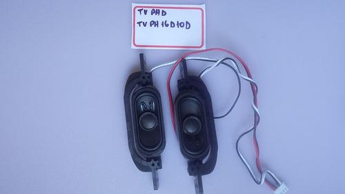 auto falantes tv philco ph 16d10d (par)
