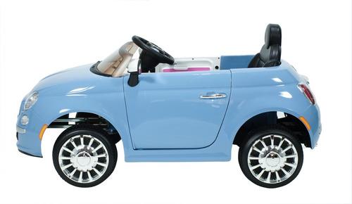 auto fiat 500 a bateria infantil 12v 2 motores 15w bebitos