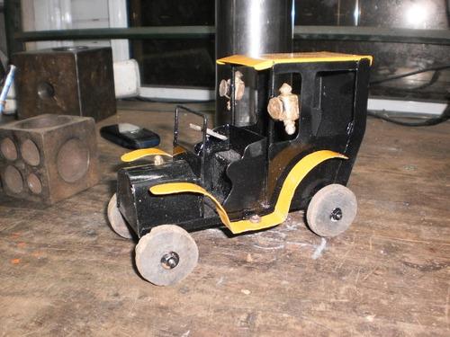 auto ford te  chapa juguete