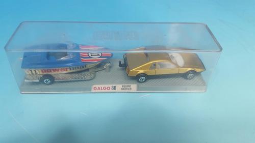 auto galgo  78 con trailler nuevo en su caja original