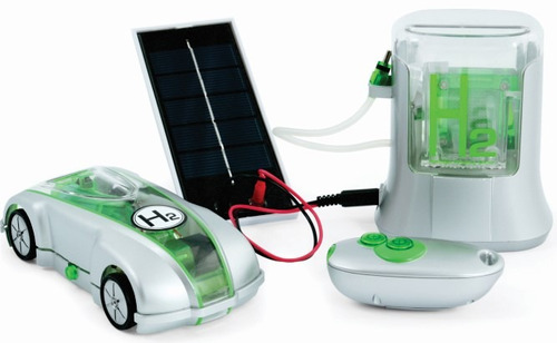 auto hidrogeno h-racer 2 solar camina c/agua ! radiocontrol