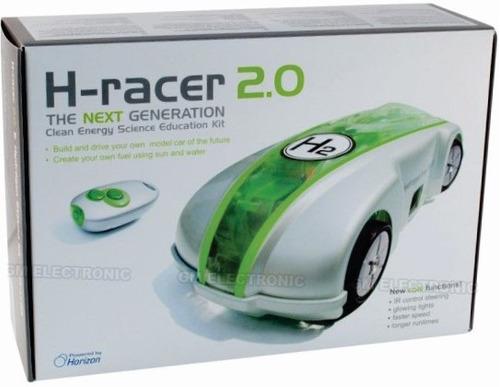 auto hidrogeno kit h-racer 2 solar camina c/agua radiocontro