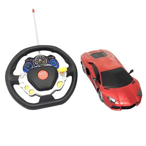 auto inalámbrico con control remoto volante real oferta loi