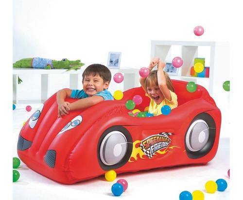 auto inflable con 50 pelotas bestway despacho gratis