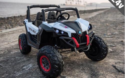 auto jeep buggy bateria doble control remoto y mp3