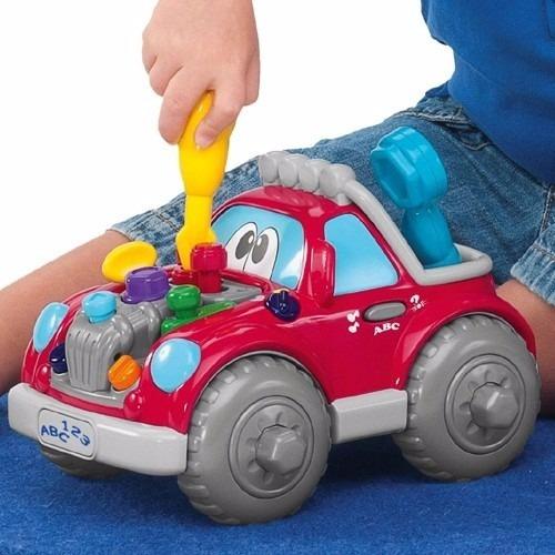 Auto De Juguete Para Bebe Chicco Musical Multicolor Nuevo 1 996