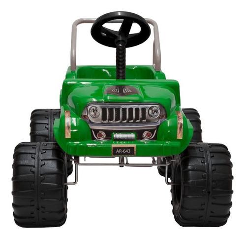 auto juguete pedal