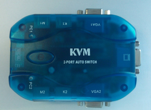 auto kvm vga ps2 switch 2 portas - mt-271s