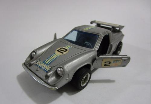 auto lotus  escala antiguo de coleccion 11 cm metalico