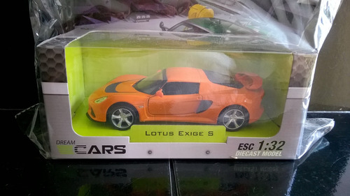 auto lotus exige s escala 1/32 colección diecast deportivos