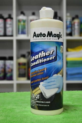 auto magic leather conditioner acondicionador cueros