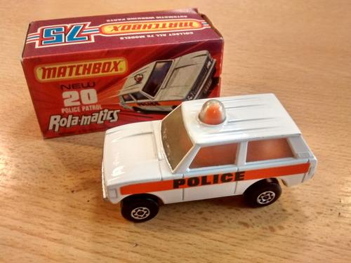 auto matchbox police patrol
