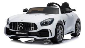Gtr Mercedes Original Eléctrico Blanco Amg Auto Benz Niño 6g7bYfy