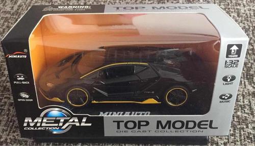 auto metálico escala de colección 1:32 alta calidad en caja