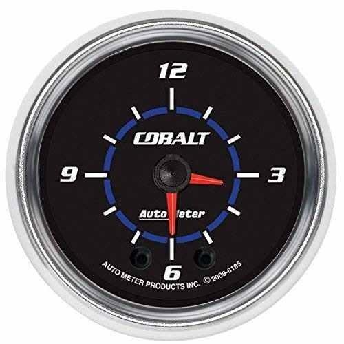 Analog Iluminado Auto 6185 Cobalto De Meter 2 Reloj Medidor 1KcTFlJ