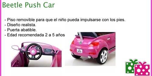auto mini push car bebesit beetle piso corredizo - 6560 eg21