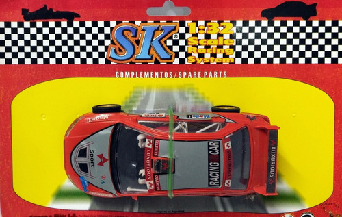 auto mitsubishi wrc compatible scalextric marca sk 1/32 4x4