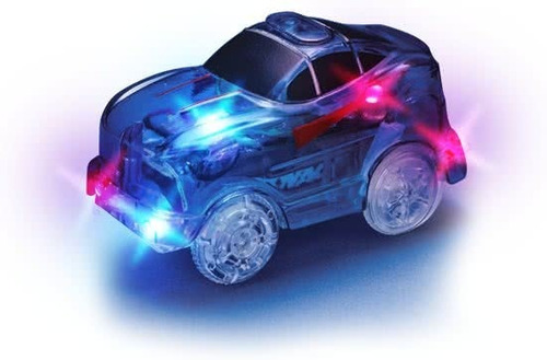 auto para magic tracks - coche luminoso  tevecompras
