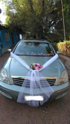 auto para matrimonios con chofer