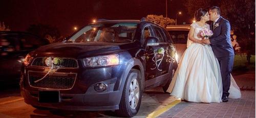 auto para matrimonios o eventos