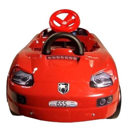 auto porsche a pedal karting carroceria pvc chasis metalico