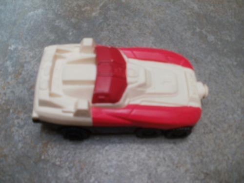 auto power ranger rojo - mc donalds zona caballito