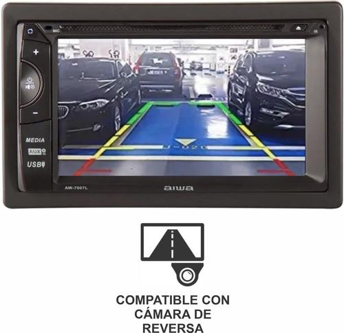auto radio aiwa tactil 6.2 dvd bluetooth mirrorlink aw-7007l