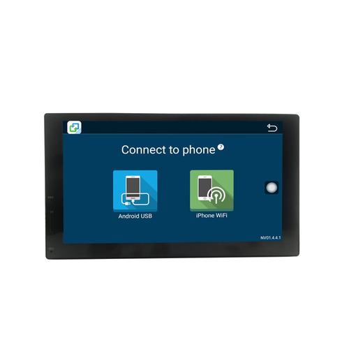 auto radio android hd gps wifi bluetooth usb táctil