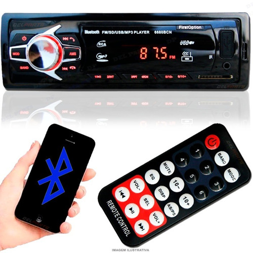 auto radio bluetooth mp3 player usb sd fm som peugeot 3008
