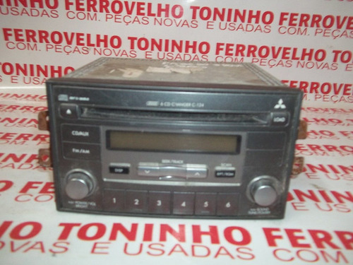 auto radio cd mitsubishi pagero original