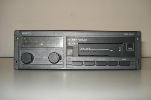 auto radio com toca-fitas bosch milano usado